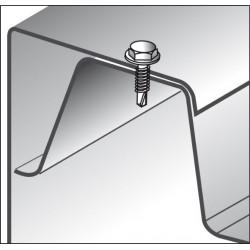 Viti Autoperforanti Testa Esagonale Bimetallo foratura max 3x0.75mm