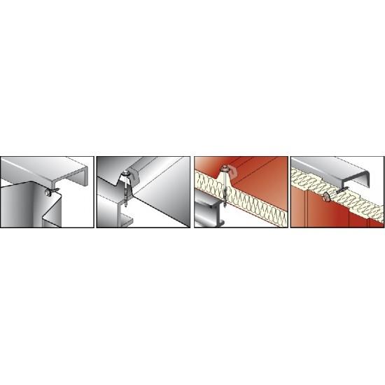 Viti Autoperforanti per Legno foratura max 4x0.75mm