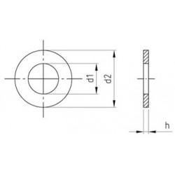 Rondella Piana Inox DIN 125 A
