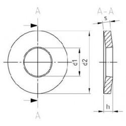 Rondelle Elastiche Inox per Raccordi a Vite DIN 6796