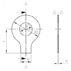 Rondelle di Sicurezza con Linguetta Inox DIN 93