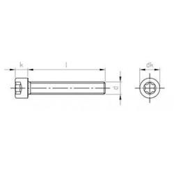 Viti Testa Cilindrica Alta Torx Inox ISO 14579