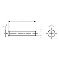 Viti Testa Cilindrica Inox DIN 84 -UNI 6107-ISO 1207