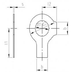 Rondelle Di Sicurezza Con 2 Naselli Inox DIN 463