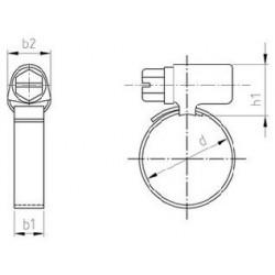 Fascette Stringitubo Inox DIN 3017