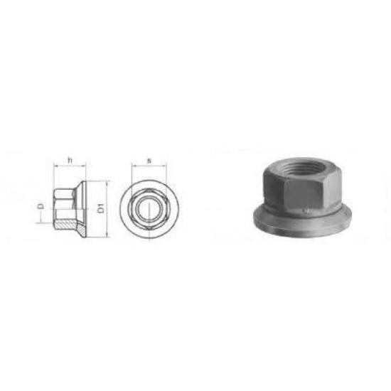 Dadi ISO Per Ruote Con Rondella Rimovibile Classe 10 Passo Fine DIN: 74361