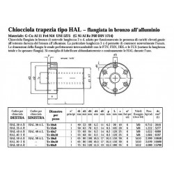 Chiocciole Trapezoidali - PV.HAL