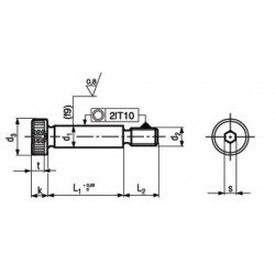 Viti di Spallamento / a Colletto / Rettificate / Calibrate ISO 7379
