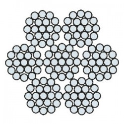 Funi di Acciaio per Applicazioni Generiche e Speciali AZN 607 TM (zincata)