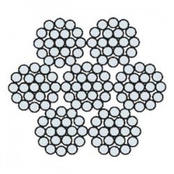 Funi di Acciaio per Applicazioni Generiche e Speciali AZN 707 (zincata)