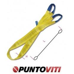 Brache di nastro tessuto piatto, 3t in poliestere ad alta tenacità (PES) colore giallo 8156