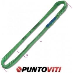 Brache ad anello continuo, 2t tessuto in poliestere ad alta tenacità (PES) colore verde 8173