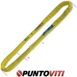 Brache ad anello continuo, 3t tessuto in poliestere ad alta tenacità (PES) colore giallo 8176