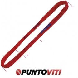 Brache ad anello continuo, 5t tessuto in poliestere ad alta tenacità (PES) colore rosso 8178
