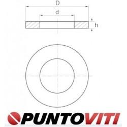 Rondelle Nylon DIN 125 ISO 7089 UNI 6592