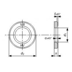 Rondelle Strutturali ad Alta Resistenza per Carpenteria DIN 6916