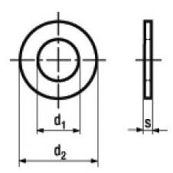 Rondelle Piane per Viti a Testa Cilindrica DIN 433