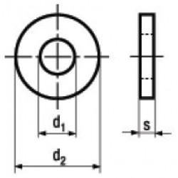 Rondelle per Strutture in Acciaio DIN 7989-1