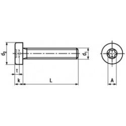 Viti Testa Cilindrica Bassa Torx ISO 14580