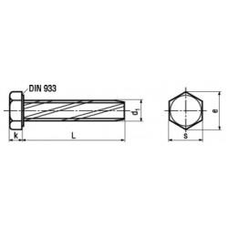 Viti Automaschianti Testa Esagonale Forma A DIN 7513