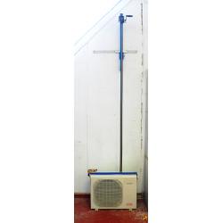 Sollevatore/Elavatore Manuale per Motocondensanti/Condizionatori d'Aria