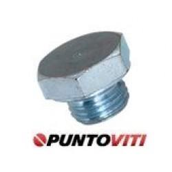 Tappi Testa Esagonale con Bordino Filettati Passo Fine DIN 7604
