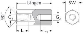 Distanziali Esagonali Alluminio Filettati Internamente Femmina-Femmina