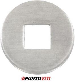 Piastrine Per Legno Da Costruzione Tipo V Inox DIN 440